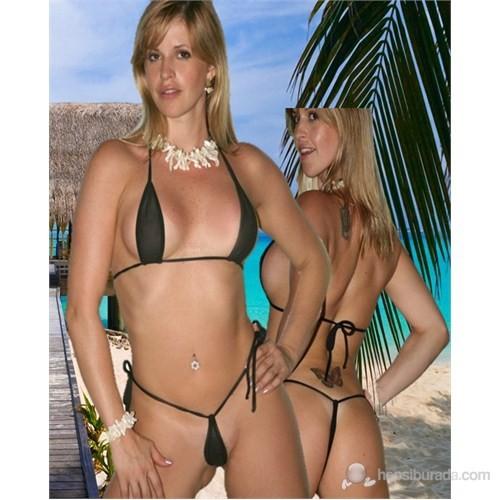 Terry Pau Tsec031031 Transparan Bikini Takım