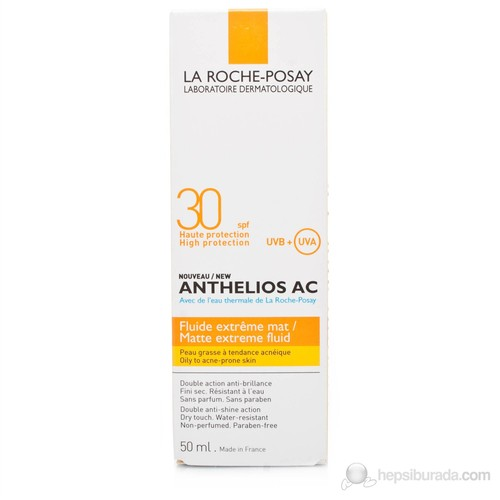 La Roche Anthelios Ac Fluide Extreme Mate Spf 30 50 Ml