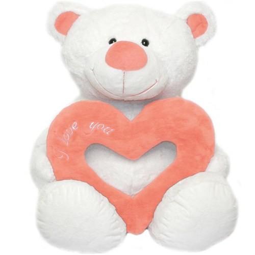 Neco Plush Delikli Kalpli Moco Ayı Peluş 65 cm