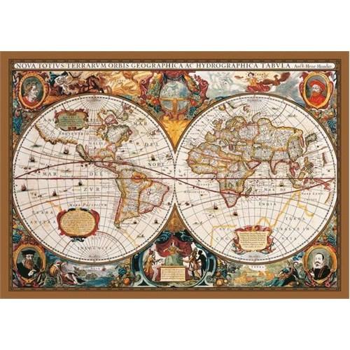 KS Games Puzzle 17th Centruy World Map (2000 Parça)