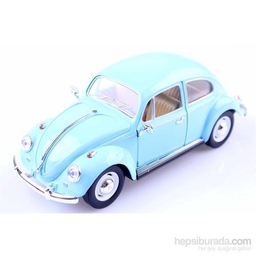 Diecast 1967 Volkswagen Classical Beetle 1/24 Die-Cast Model Araç