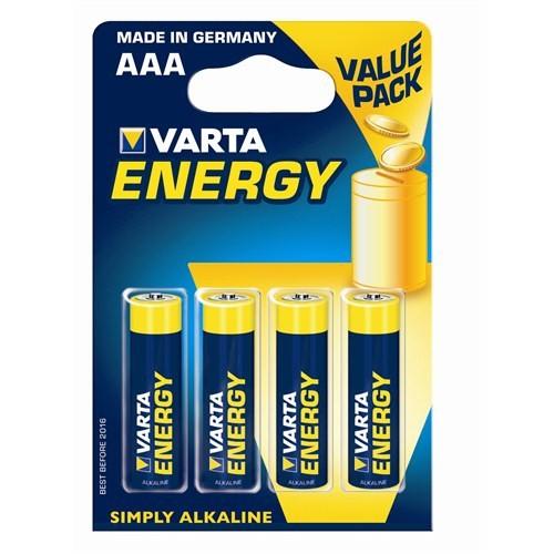 Varta Energy Seri Energy AAA 4'lü 4103229414