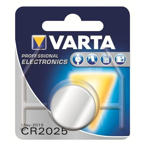 Varta Elektronik CR 2025 Pil 6025101401