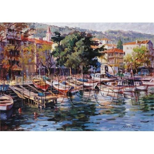 Educa Puzzle Büyükdere Kayık İskelesi - İstanbul (1500 Parça)
