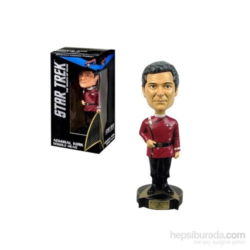 Star Trek: Wrath Of Khan Kirk Bobble Head