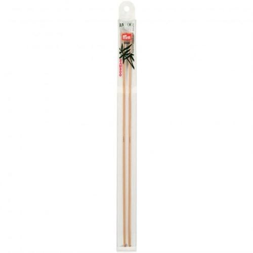Prym 2,5 Mm 33 Cm Bambu Örgü Şişi - 221123