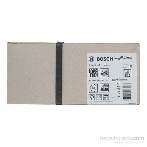 Bosch - Flexible Serisi Ahşap Ve Metal İçin Tilki Kuyruğu Bıçağı S 1022 Hf - 100'Lü Paket