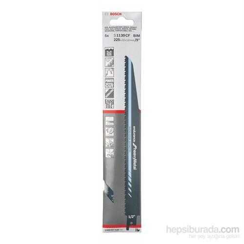Bosch - Endurance Serisi Ağır Metal İçin Tilki Kuyruğu Bıçağı S 1130 Cf - 5'Li Paket