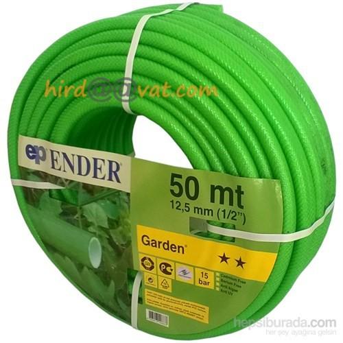 Ender Garden 1/2 İnç Örgülü Bahçe Hortumu 50M