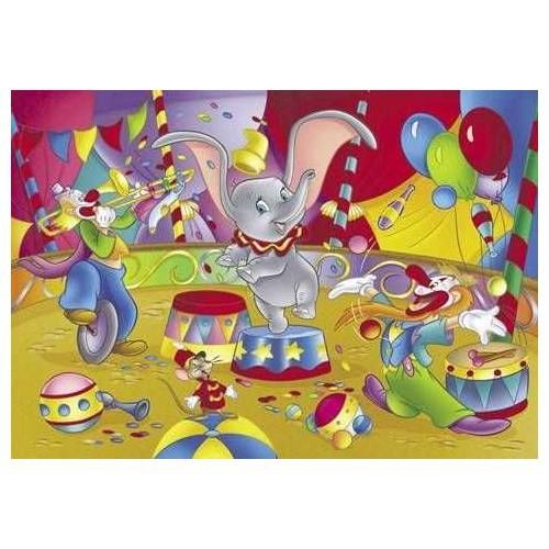 Lischiani Giochi Dumbo (60 Parça - Çift Taraflı Yapboz)