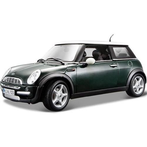 Maisto Mini Cooper Sun Roof 1:18 Model Araba S/E Yeşil