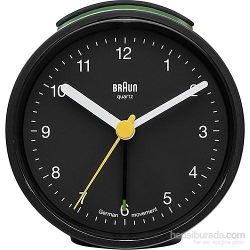 Braun Alarmlı Masa Saati Siyah - BNC012