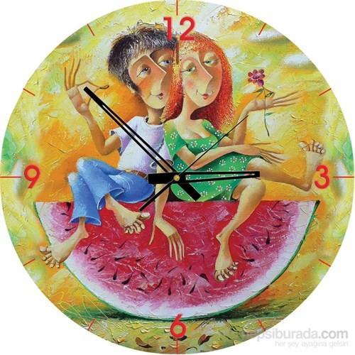 Art Puzzle 570 Parça Saat Puzzle Aşk Kırmızı