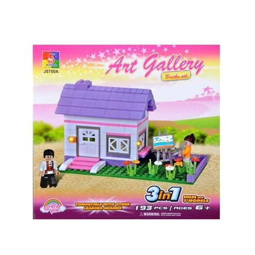 3 Model 1 Kutuda Sanat Galerisi Lego Seti