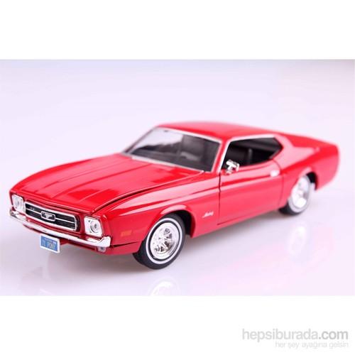 Motomax 1971 Ford Mustang Sport 1/24 Die Cast Model Araç