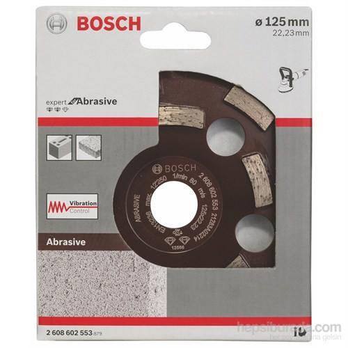 Bosch - Expert Serisi Aşındırıcı Malzemeler İçin Elmas Çanak Disk - 125 X 22,23 X 4,5 Mm