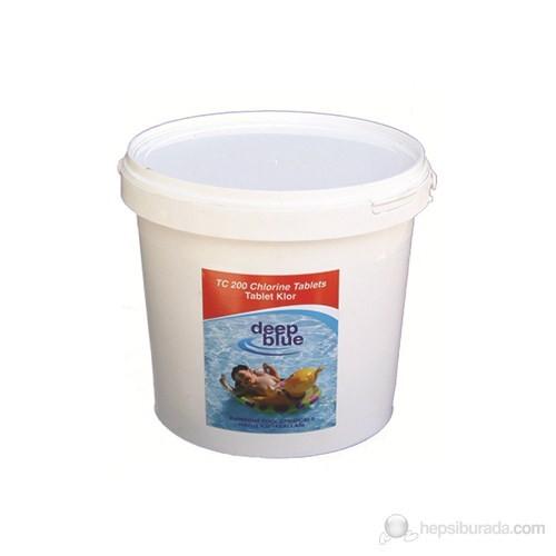 Deep Blue Tablet Klor 200 Gr. %90 50 Kg.
