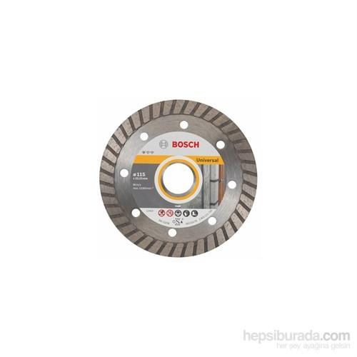 Bosch - Expert Serisi Tüm Malzemeler İçin Turbo Segman Elmas Kesme Diski - 9+1 Set - 115 X 22,23 X 2 X 10 Mm