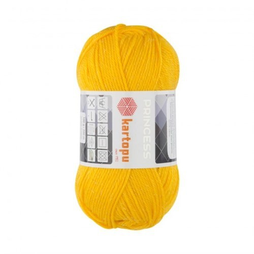 Kartopu Princess Sarı El Örgü İpi - K320