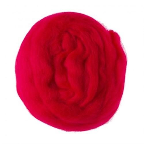 Kartopu Kırmızı Yün Keçe - 141