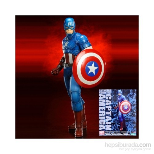 Marvel: Captain America Artfx+ Avengers Statue 1/10