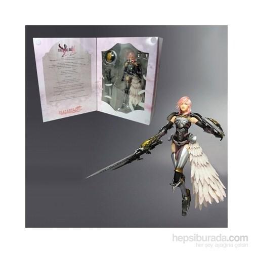 Final Fantasy Xııı-2: Lightning Play Arts Kai Figür