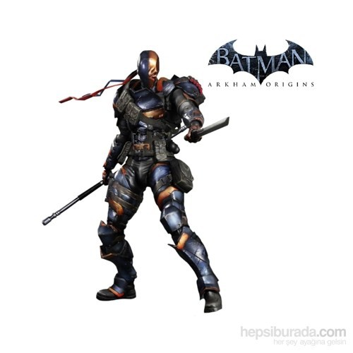 Batman Arkham Origins: Deathstroke Play Arts Kai Figure