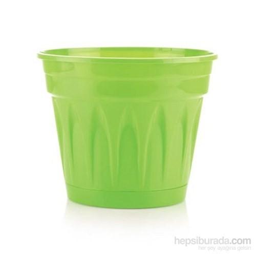 Plantistanbul Revak Saksı Açık Yeşil Renk, 3,3 Litre, 3 Adet