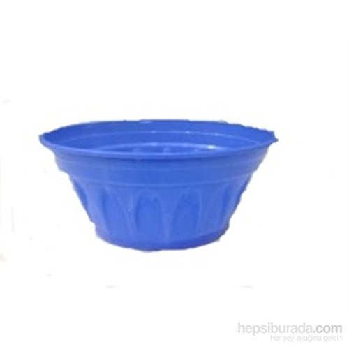 Plantistanbul Revak Saksı Mavi Renk, 3,3 Litre, 3 Adet
