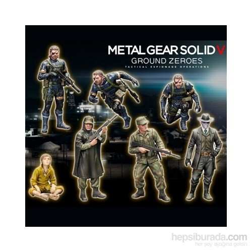 Metal Gear Solid V: Ground Zeroes Model Kit Set
