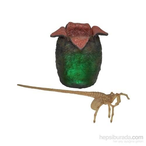 Alien Egg & Facehugger Işıklı Xenomorph Yaratık Figür