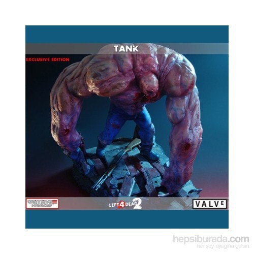 Left 4 Dead 2 Tank Resin Statue Exclusive Edition