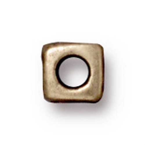 Tierra Cast Metal 1 Adet 5 Mm Altın Rengi Küçük Küp Aksesuar Boncuk - 94-5788-27