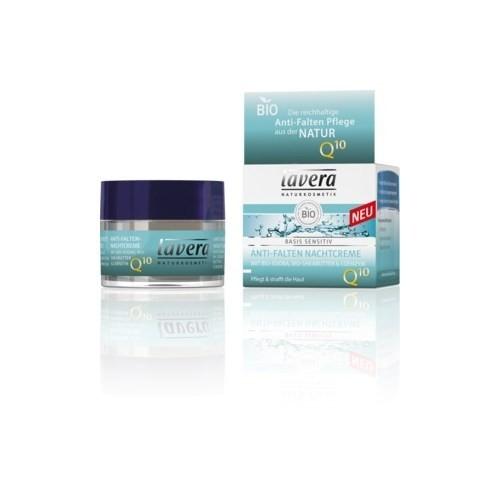Lavera Basis Sensitive Anti-Ageing Yaşlanma Karşıtı Gece Kremi Q10