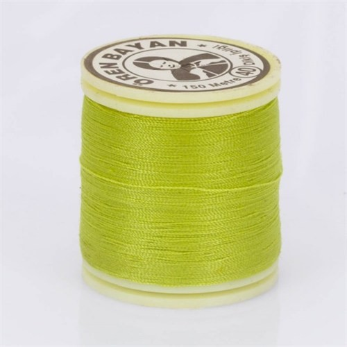 Ören Bayan Limon Yeşil Polyester Dikiş İpliği - 723