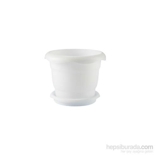 Renkli Saksı No5 - 517 - Beyaz