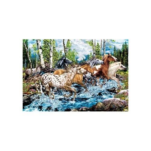 Masterpieces Puzzle River Run (500 Parça)