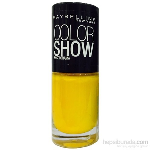 Maybelline Color Show Oje 7 Ml - 749 Electric Yellow