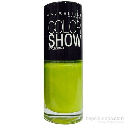 Maybelline Color Show Oje 7 Ml - 754 Pow Green