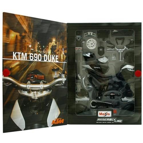 Maisto 1:12 Ktm 690 Duke Model Maket Kit Motosiklet