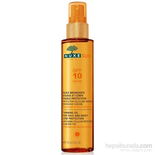 NUXE Huile Solaire SPF 10 150 ml
