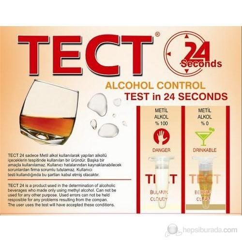 Tect24 Sahte Alkol Testi 24'Lük Paket