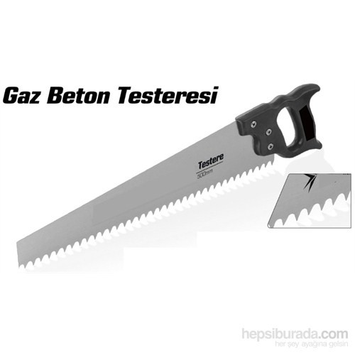 Sonax GS 50 Cm Gaz Beton Testeresi 090602
