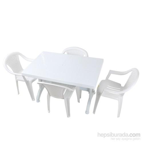 Akyüz Plastik Masa Sandalye Takımı