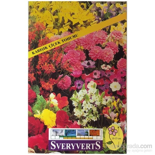 Karışık Çiçek Tohumu