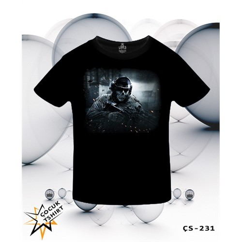 Lord T-Shirt Call Of Duty - Cod Ghosts T-Shirt