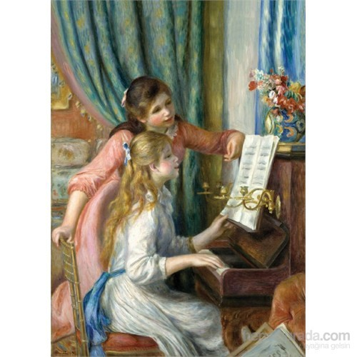 Puzz 500 Parçalık Piyano Dersi Puzzle