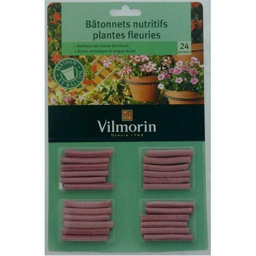 Vilmorin Çiçek Açan Bitkiler İçin Çubuk Besin 20 Çubuk
