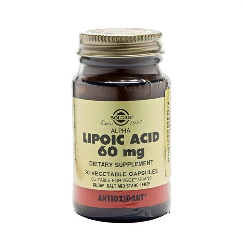 Solgar Alpha Lipoic Acid 60Mg 60 Tablet