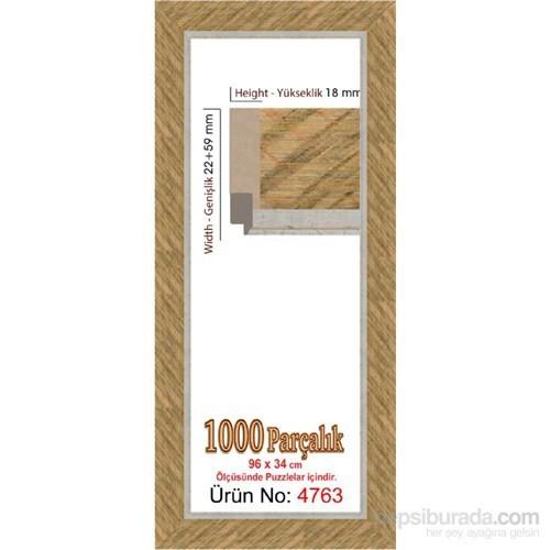 Heidi 1000 Parçalık Panorama Puzzle Çerçevesi (34X96 Cm) 4763